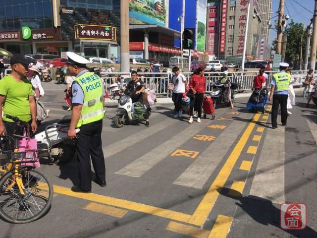 行人等待区、出租车专用道…郑州火车站地区又有交管新措施