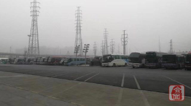连续大雾天气 汽车东站今天多趟班次停运