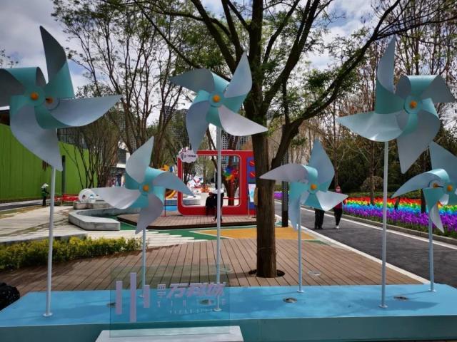 10万只彩色风车即将惊艳西宁,万科城再成西宁焦点?
